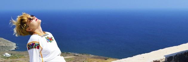 Visiting Santorini